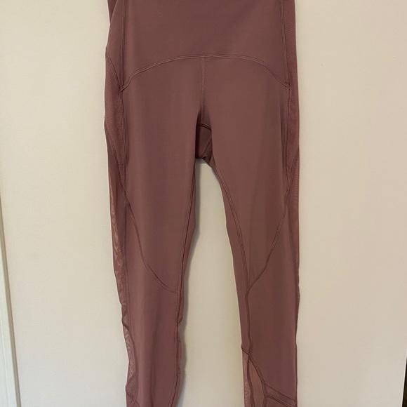 Lululemon leggings 7/8 length, high rise.